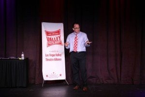 Las Vegas Valley Theatre Awards founder Jacob Coakley